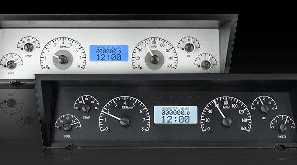 1971-1976 Chevrolet Impala Dash Instrument Cluster White Face Gauges